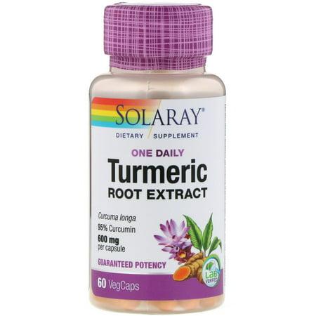 Solaray  One Daily Turmeric Root Extract  600 mg  60 -