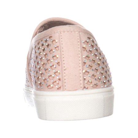 MG35 Eidyth Rhinestone Fashion Sneakers, Blush - image 5 of 6