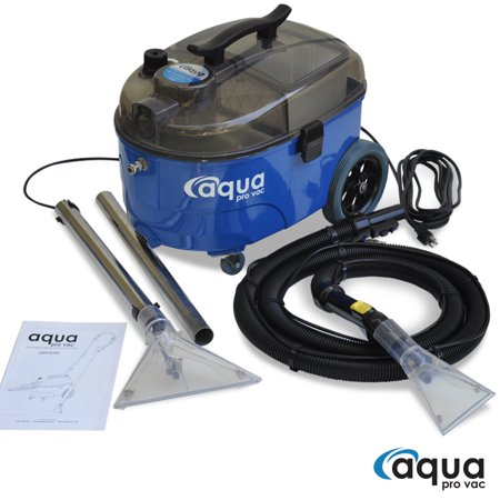 Aqua Pro Vac - Portable Carpet Cleaning Machine, Spotter, Extractor for Auto