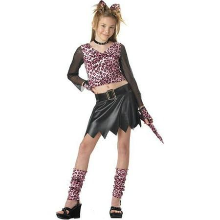 Child's Pink Leopard Dress Costume - Leopard Dress Costume