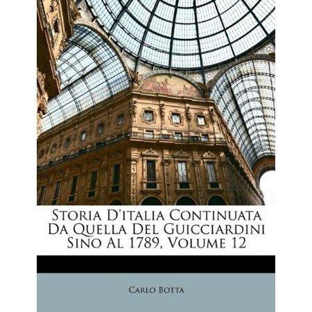 Storia D'Italia Continuata Da Quella del Guicciardini Sino Al 1789, Volume 12 - image 1 de 1