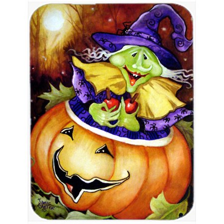 Caroline's Treasures Bewitched and Glowing Halloween Glass Cutting Board - Glowing Glass