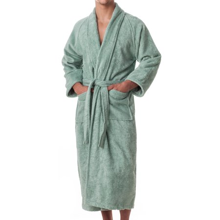 Exceptionalsheets Mens 100 Egyptian Cotton Terry Cloth Robe
