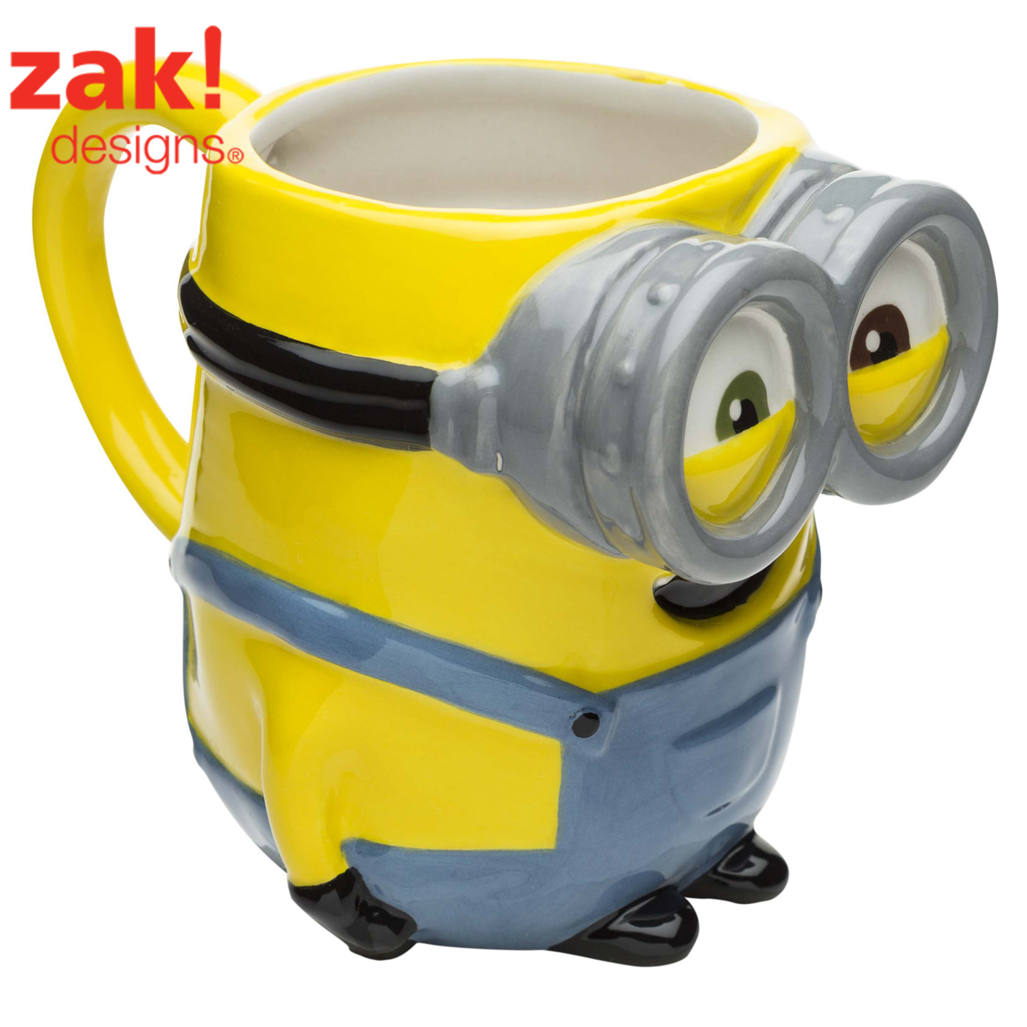 Zak! Designs Minions Bob Coffee Mugs 12 oz.
