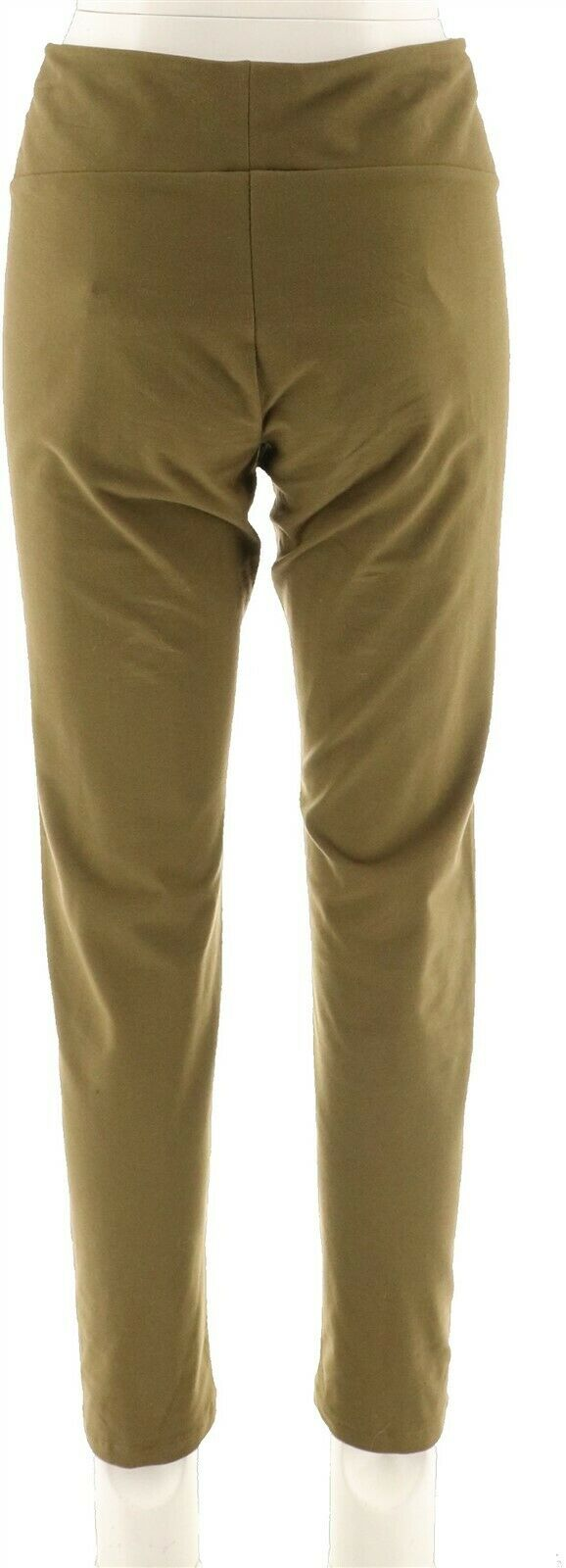 Women with Control Tummy Control Ankle Length Pants Marine Navy L NEW A286518