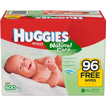 Huggies Natural Care Plus Baby Wipes  Ct