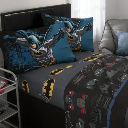 Warner Bros. Batman Guardian Speed Kids Sheet Set, 1