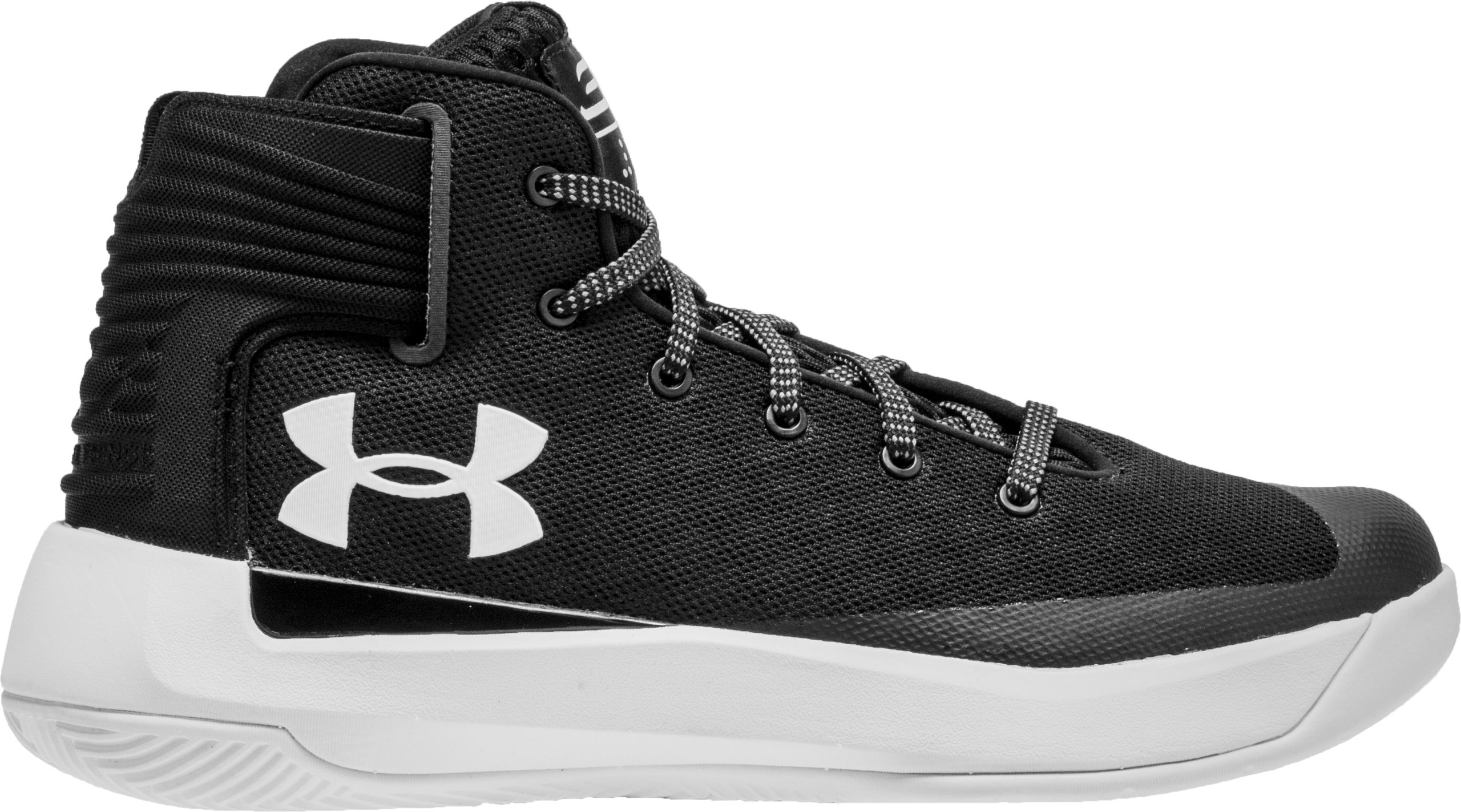 1d41175718ed Under Armour - Under Armour 1295998-001  Steph Curry 3Zer0 GS Basketball  Shoe Black White (5.5 M US Big Kid) - Walmart.com