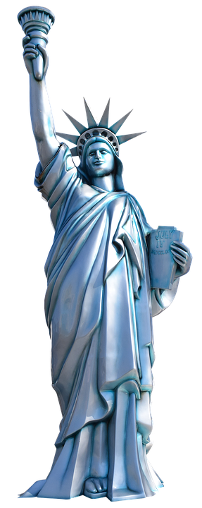 Statue Of Liberty New York America Birthday Customised Card