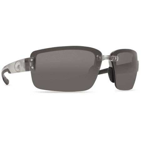 Costa Del Mar Galveston Silver Sunglasses (Costa Aviators)