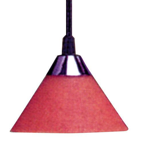 Elco EDL70 Single Light Line Voltage Sconce Pendant with Black Cord and Ceiling