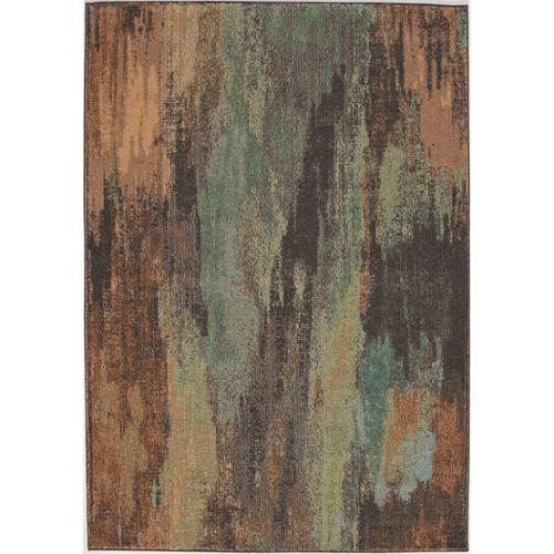 Momeni Abode Multi Power-Loomed Mural Rug (7'10 x 9'10) by Overstock
