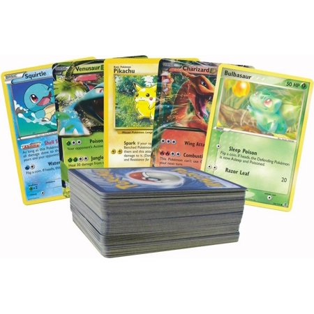 100 Random Pokemon Card Lot with 1 EX!