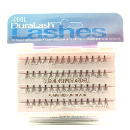 0b72dd5371e Ardell Duralash Flare Medium Black (56 Lashes) (Case of 6) - Walmart.com