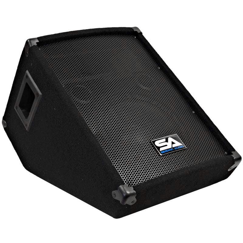 "Seismic Audio NEW 10"" Floor Monitor Studio/Stage PA/DJ Speaker BAND - SA-10MSingle"