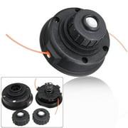 For RYOBI EXPAND-IT Universal 2 Line Spool Mower String Trimmer Head Cutting black