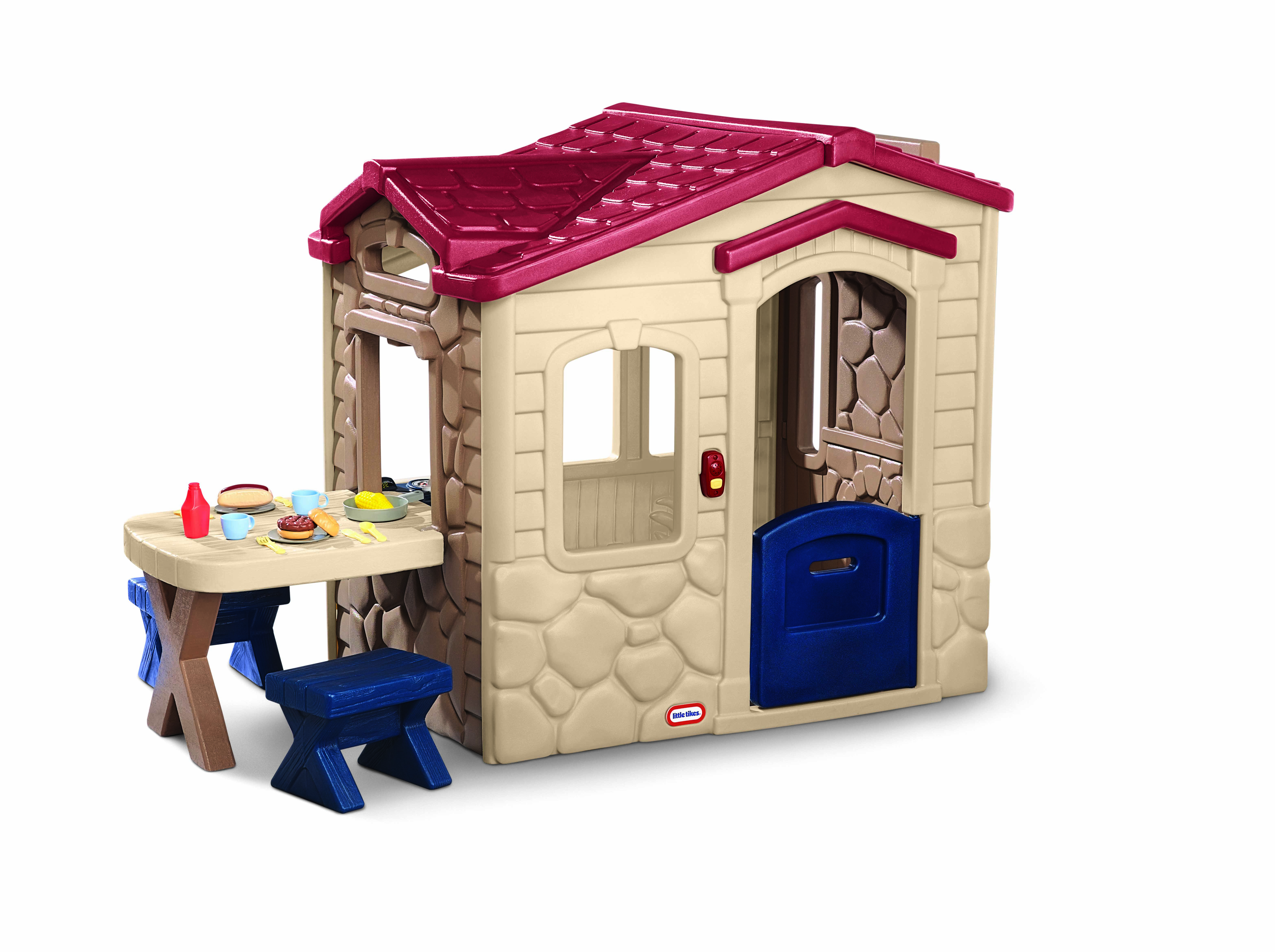 Delightful Little Tikes Picnic On The Patio Playhouse Image 3 Of 3