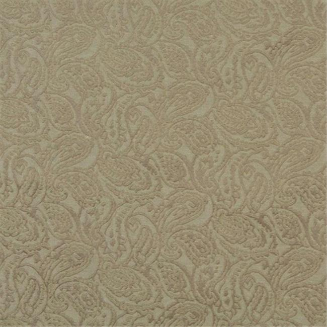 Designer Fabrics E575 54 in. Wide Olive Green, Paisley Jacquard Woven Upholstery Grade Fabric
