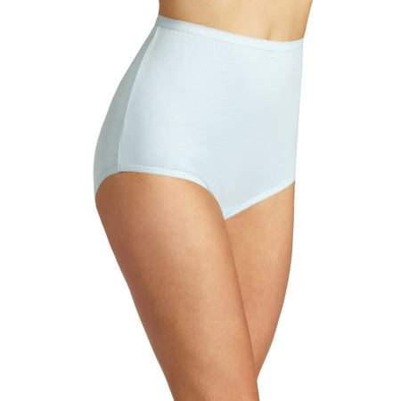 34bd0b2bedcc Vanity Fair Perfectly Yours Women`s Tailored Cotton Brief Panty, 11, ...