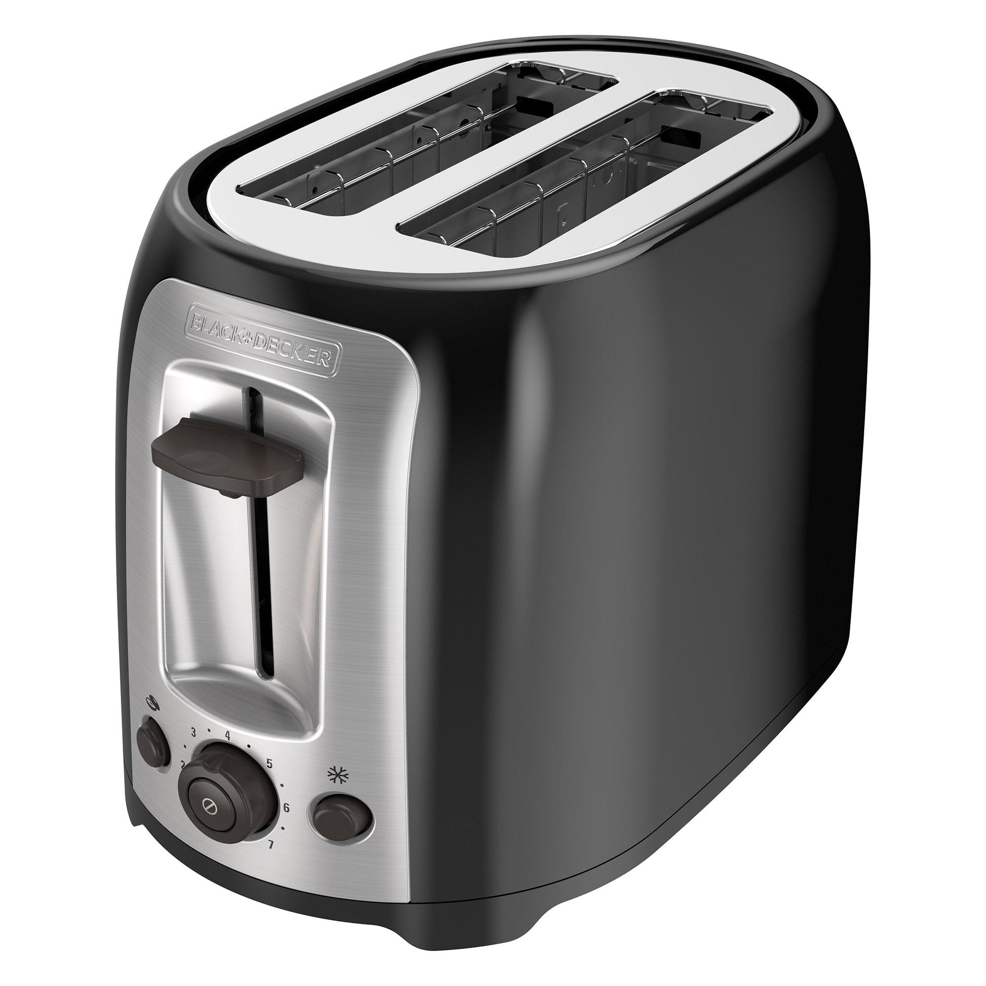 Black & Decker 2-Slice Multi-Functional Toaster, Bagel Toaster, TR1278TRM by Black Decker