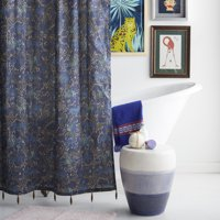 Jungle Leopard Shower Curtain by Drew Barrymore Flower Home
