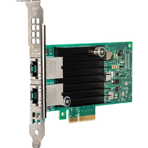 Intel Ethernet Converged Network Adapter X550-T2 - PCI Express 3.0 x16 - 2 Port(s) - 2 - Twisted Pair