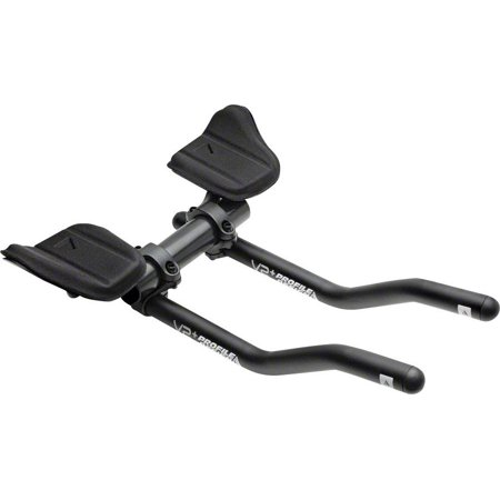 - Profile Design V2 Plus Aluminum Aerobar: with L1 Bracket and F-19 Armrest, Matte Black
