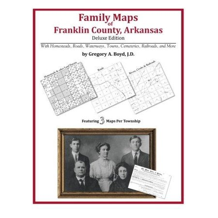 Family Maps Of Franklin County  Arkansas