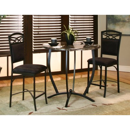 Sunset Trading 3 Piece Sierra Round Counter Height Dining Set