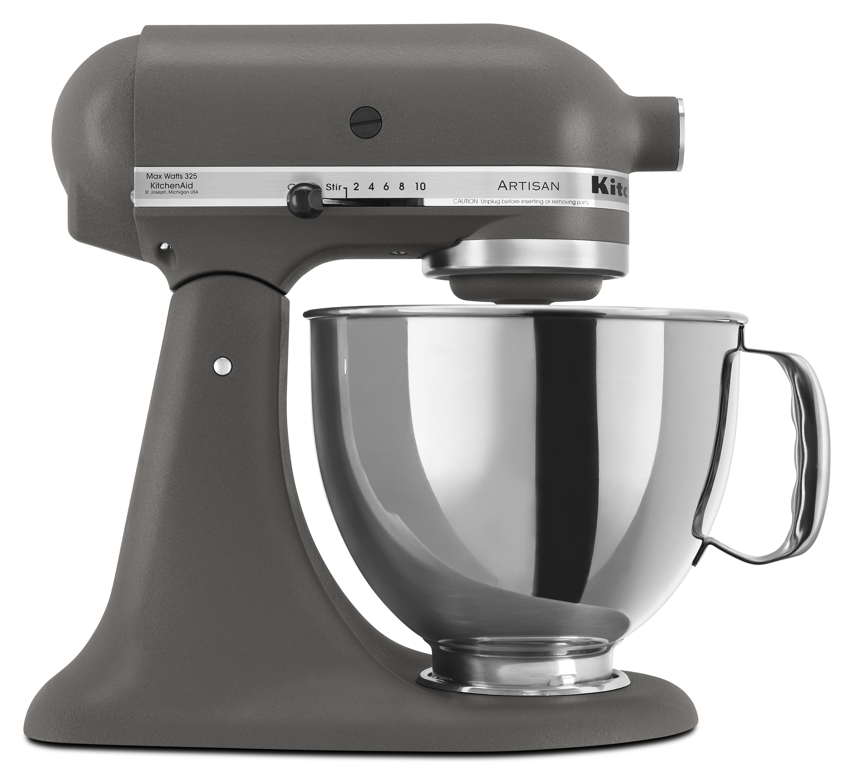 KitchenAid Artisan Series 5 Quart Tilt-Head Stand Mixer, Matte Fresh Linen (KSM150PSFL)
