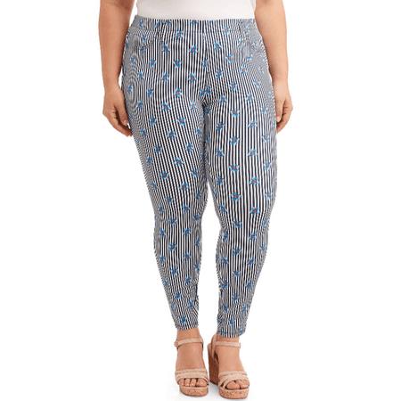 5abefe0220 Terra   Sky - Women s Plus Size Full Length Super Soft Jegging - Walmart.com