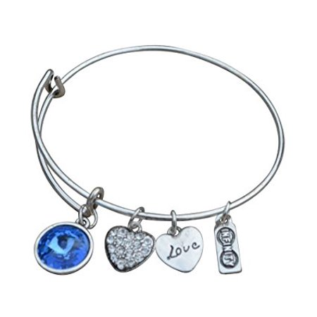 July Birthstone BraceletnbspBirthstone JewelrynbspJuly JewelrynbspBirthstone Bangle Bracelet PerfectnbspBirthday Gifts For Women