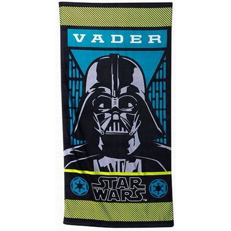 Disney Star Wars Darth Vader Cotton Beach Towel & Cinch Tote Bag - Disney Cinch Bag