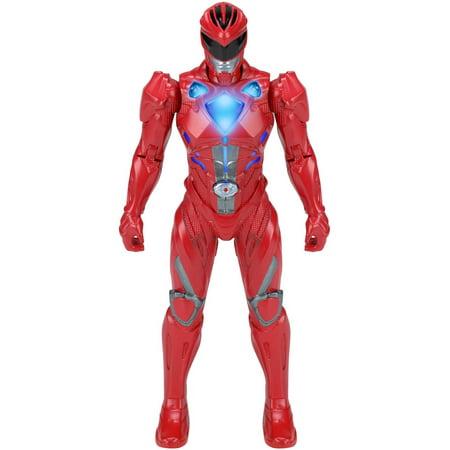 Power Rangers Movie Morphin Grid  Red Ranger Figure