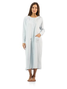 89fc086fdd Product Image Casual Nights Women s Long Quilted Robe House Dress