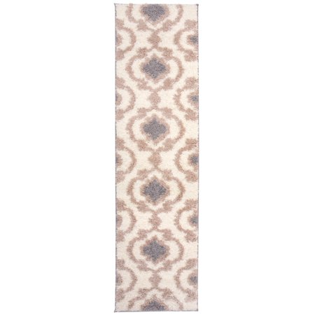 World Rug Gallery Cozy Moroccan Trellis 2525 Cream 24