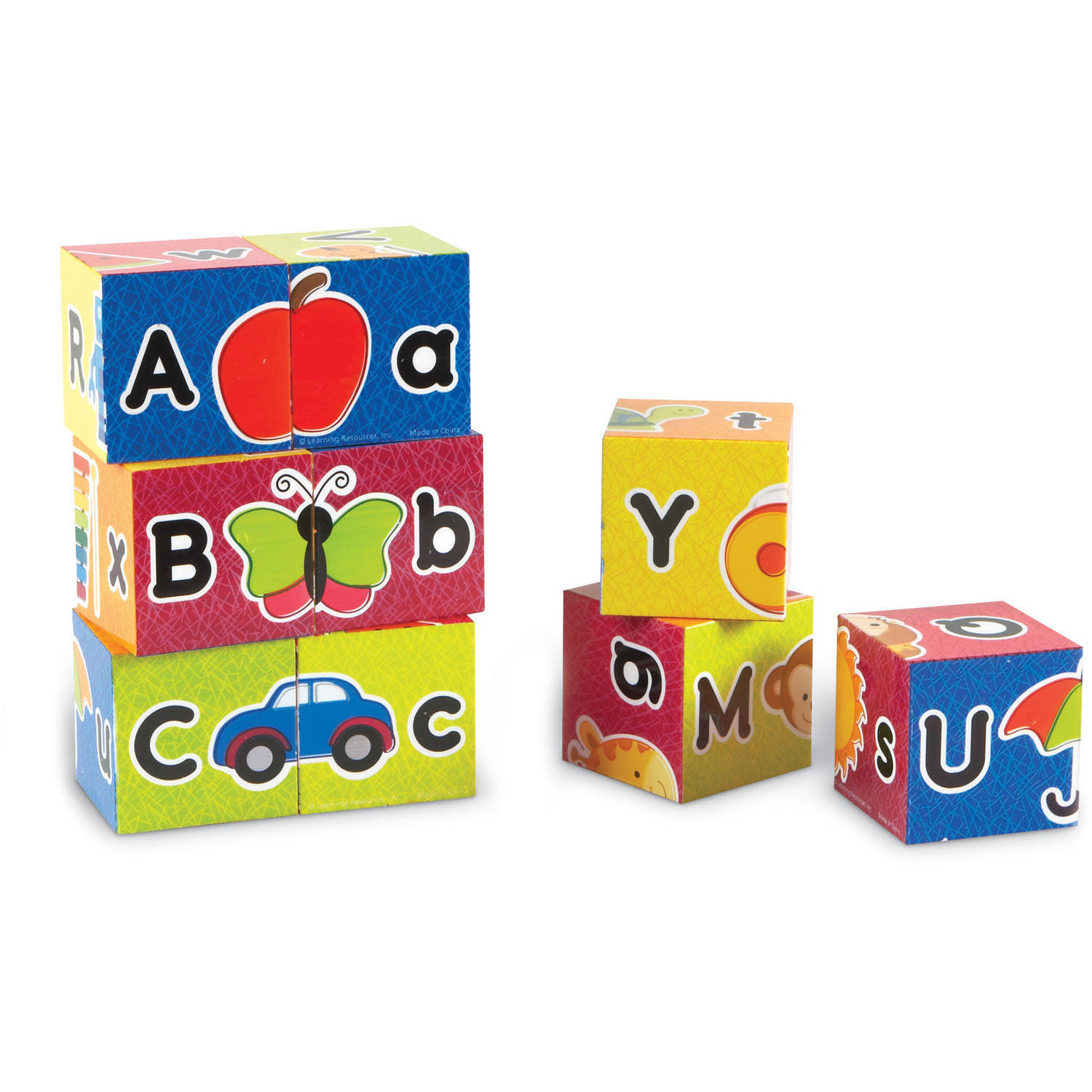 Learning Resources Alphabet Puzzle Blocks by LEARNING RESOURCES