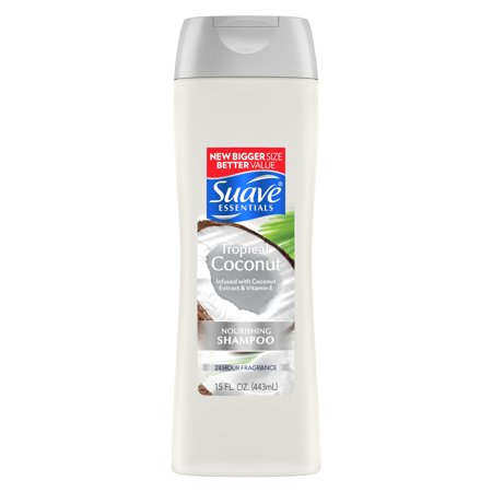 Suave Essentials 15 Fl. Oz. Tropical Coconut Shampoo