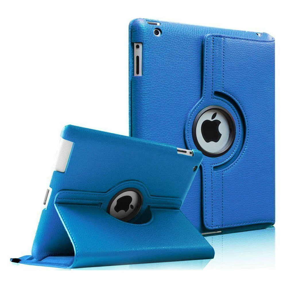 Fintie Apple iPad 2/ iPad 3 / iPad 4 Case - 360 Degree Rotating Stand Smart Cover with Auto Wake/Sleep, Blue