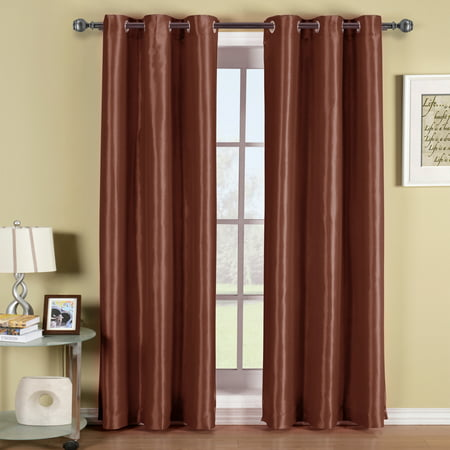 Soho Grommet Thermal insulated Blackout Window Curtain Panel Energy Saving (Sold as Single