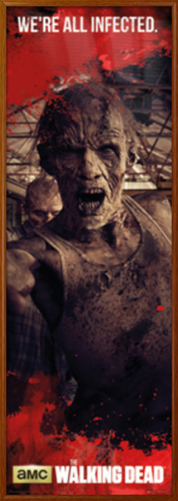 THE WALKING DEAD TV Show PHOTO Print POSTER Series Art Walkers Zombie Toy 011