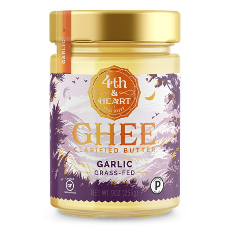 4th & Heart Garlic Ghee, 9 Oz