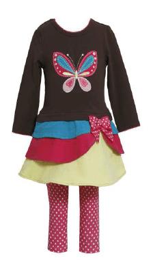 6X New Bonnie Jean Girls Spring Easter Pink Flower Seersucker Outfit Set 2T