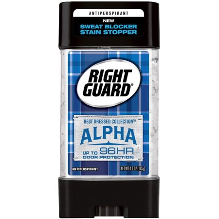 2 Pack - Right Guard Anti-perspirant Best Dressed Collection Alpha, 4