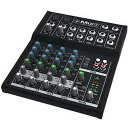 - Premium 8-Input 2-Bus Analog Audio Mixer
