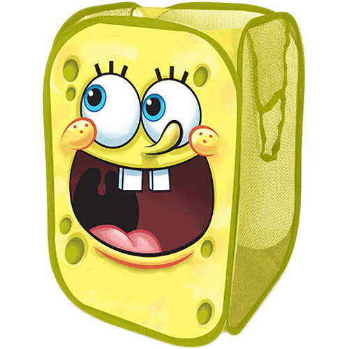 Nickelodeon SpongeBob SquarePants Square Pop-Up Hamper