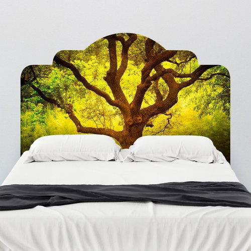 Walls Need Love Paul Moore's Tree of Life Cantigney Park, IL Headboard Wall Mural