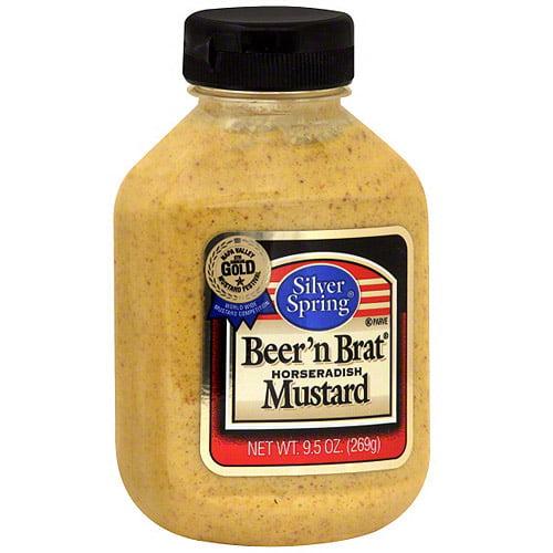 Silver Spring Horseradish Mustard, 9.5 oz (Pack of 9)