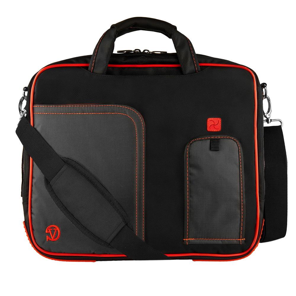 MATEH Totem Laptop Bag 15.6 Inch Shoulder Messenger Bag Computer Tote Briefcase for Work School