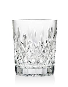 birmingham clear nonleaded crystal barware double old fashioned whiskey glasses set of 4